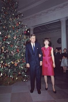 """""""White House Christmas 1962""""-Don't really remember this personally, since I don't think I was there. I wonder if there are still some people that remember being there then with Mr. and Mrs. Kennedy."""