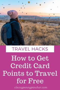 I'm sharing how my family if glynis able to travel for free by using credit card reward points and how you can travel cheap too!