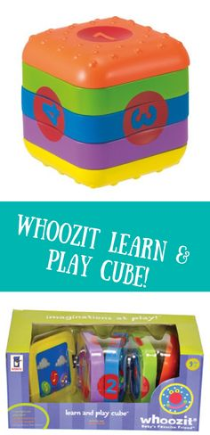 """From Manhattan Toy's award winning Whoozit collection - Baby's Favorite Friend! Compact cube unfolds into 5 sections and features 7 different activities that encourage fine motor skills Activities include discovery mirror, clicking spin dial, sliding beads, crinkle fabric, number count, and spinning clock hands. Plays 3 different melodies when buttons are pressed, teaching cause and effect. Measures 7"""" x 6.5"""" x 6"""" folded, unfolds to 19"""" long, and includes 3 replaceable AA batteries."""