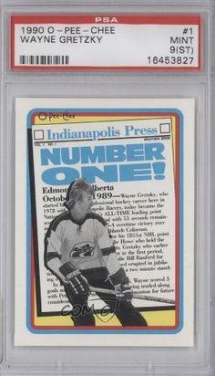 Wayne Gretzky Indy PSA GRADED 9 (Hockey Card) 1990-91 O-Pee-Chee #1 by O-Pee-Chee. $6.00. 1990-91 O-Pee-Chee #1 - Wayne Gretzky Indy PSA GRADED 9