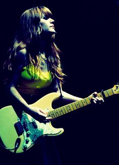 Jenny Lewis can we trade places??? I just want your georgeous hair. And melodious singing voice.