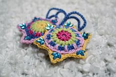 Ravelry: Star Decoration by Lucy of Attic24