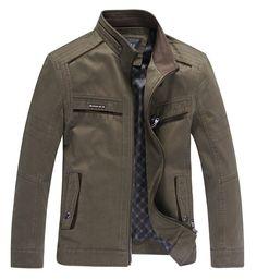 Aliexpress.com: Comprar Primavera y otoño 2014 nuevos hombres de la marca de chaquetas hombres de mediana edad hombres lavados chaqueta de algodón chaqueta 1310 de chaqueta de las mujeres fiable proveedores en ray1989's store