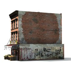 Chinatown Market Building Model available on Turbo Squid, the world's leading provider of digital models for visualization, films, television, and games. 3d Building Models, Old Building, Urban Architecture, Architecture Photo, Ho Scale Train Sets, Maya Modeling, Cyberpunk Aesthetic, 3d Home, City Buildings