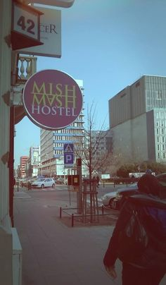 Mish Mash Hostel - now you know where we are!