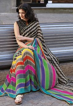 Do you need the best Elegant Designer Indian Saree including things like Classic Sari and Latest Elegant Sari Blouse then you'll like this CLICK VISIT link above for more options Fancy Sarees, Party Wear Sarees, Indian Attire, Indian Wear, Indian Style, Indian Ethnic, Indian Dresses, Indian Outfits, Blue Dresses
