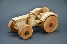 Holztraktor Bauanleitung zum selber bauen | Heimwerker-Forum