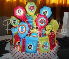 #SuperBauti #CandyCake #Superheroes