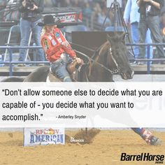 Kailey's Top Quotes - Barrel Horse News