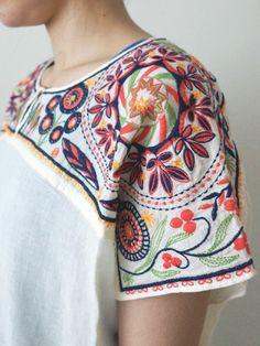 Bengali embroidery