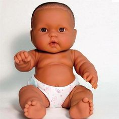 LOTS OF LOVE BABIES – BERENGUER FUN PLAY DOLL – 14″ AFRICAN AMERICAN DOLL – COMES WITH EXTRA OUTFIT Review