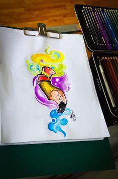 New school designs - Tattoo MAG Graffiti Pens, Graffiti Lettering Fonts, Graffiti Cartoons, Graffiti Designs, Graffiti Characters, Graffiti Drawing, Familie Symbol, Desenho New School, Arte Lowrider