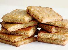 Homemade Graham Crackers | Gluten-Free, Dairy Free