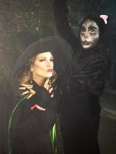 Robert Downey Jr. and Susan Downey in their costumes for Halloween 2013.