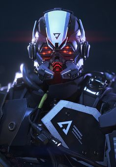 Killzone: Shadow Fall - Helghast Commando by Arno