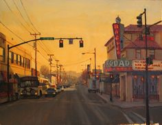 Jennifer Diehl - Morning Commute- Oil - Painting entry - May 2012 | BoldBrush Painting Competition