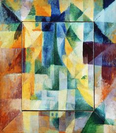 Robert Delauney - Fensterbild