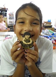 Keysha and her dolly http://gariesim.blogspot.sg/2014/04/all-creative-learning-for-children.html