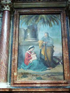 Palermo  La Chiesa di Sant'Ignazio all'Olivella  La sacra famiglia