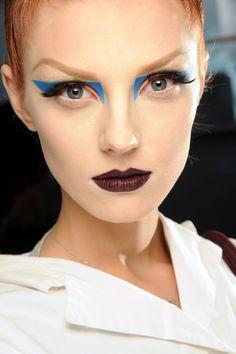 Christian Dior Fall 2010 Couture Fashion Show Beauty Make Up Looks, Christian Dior, Pat Mcgrath, John Galliano, Makeup Trends, Makeup Ideas, Makeup Inspo, Beauty Trends, Party Makeup
