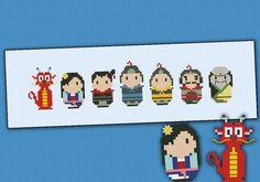 (10) Name: 'Embroidery : Mulan