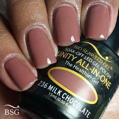 UNITY All-In-One Colour Gel Polish - 236 Milk Chocolate