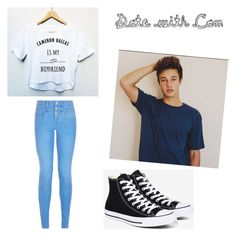 #DateWithTheCameronDallas by ethan-s-queen on Polyvore featuring polyvore fashion style New Look Converse clothing