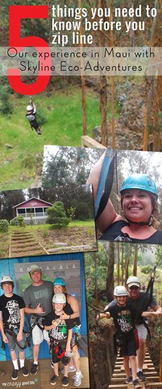 5 Things to Know Before You Zip Line: Our experience with Skyline Eco-Adventures in #Maui