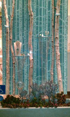 Kendra Scott windows by Jarred Simons, Beverly Hills visual merchandising