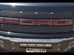 FORD RAPTOR SVT F-150 GRILLE LETTERS W/ OUTLINES STICKERS VINYL DECALS 2014 | eBay