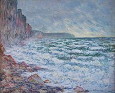 Claude Monet The Sea At Fecamp painting for sale, this painting is available as handmade reproduction. Shop for Claude Monet The Sea At Fecamp painting and frame at a discount of off. Claude Monet, William Turner, Monet Paintings, Impressionist Paintings, Pierre Auguste Renoir, Paul Gauguin, Edgar Degas, Vincent Van Gogh, Henri Matisse