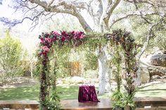 Magical Hummingbird Ranch wedding   Photo by Scott Clark Photo   Read more - http://www.100layercake.com/blog/?p=80854