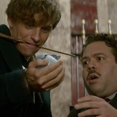 Newt & Jacob | Fantastic Beasts...