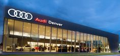 Our beautiful state of the art Audi dealership.