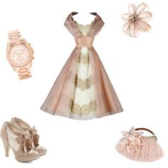Pearl Pink by writergurl-1 on Polyvore featuring Michael Kors