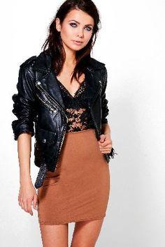 41a02a4f3698 boohoo Basic Mini Skirt - camel DZZ62951 Ava Basic Mini Skirt - camel http:/