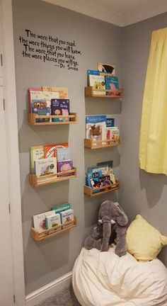 Kids Toy Room Decor the Ultimate Convenience! Kids Toy Room Decor the Ultimate Convenience! The Unexpected Truth About Kids Toy Room Decor Elect for a purple sofa for the living room should you want to make an aristocratic decor. In addition,. Baby Bedroom, Baby Boy Rooms, Baby Room Decor, Girls Bedroom, Kid Decor, Room Baby, Reading Room Decor, Bedroom Toys, Reading Wall