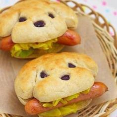 Puppy Sandwiches | Girls Paw Patrol Party Ideas | Pretty My Party