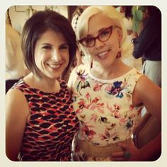 I LOVE XtremeLashes!!  Jo Mousselli of XtremeLashes and Emily Ellyn Retro Rad Chef at the Ladies of the Vine Luncheon at Wine & Food Week in The Woodlands, Texas #emilyellyn #foodnetwork #eyelashextensions #xtremelashes #instagram #instagood #retroradchef #wizardgourmet2013