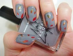 I am unfolding before you 15 + cute & easy fall nail art designs, ideas, trends & stickers of Try out these autumn nails this season and grab compliments from your pals. Simple Nail Art Designs, Toe Nail Designs, Fall Nail Designs, Nails Design, Fall Acrylic Nails, Autumn Nails, Spring Nail Art, Spring Nails, Simple Fall Nails