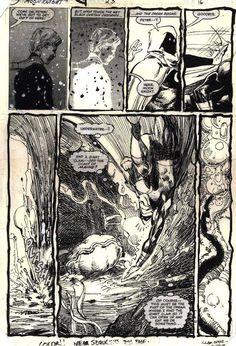 """Moon Knight"" by Bill Sienkiewicz"