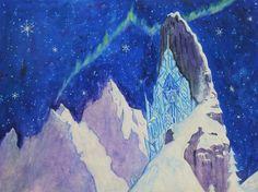 Frozen Ice Castle by popdrasticchicnymph