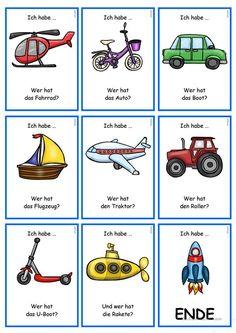 German Grammar, German Words, German Language Learning, Love Time, Reading Games, Grammar And Vocabulary, Alphabet, Learn German, Prepositions