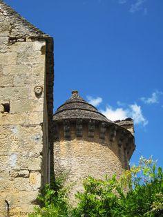 Fortified Manoir de Craminat in Sergeac en Périgord, a former Commanderie of the Knights Templar