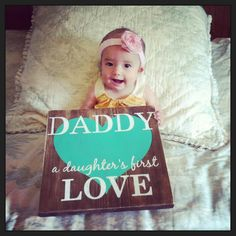 gift for daddy daddy- a daughter's first love