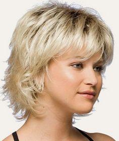 """Fryzura """" Kaskada """" na włosach średniej( średnia fryzura damska z opisem i zdjęciami) - One Lady"""