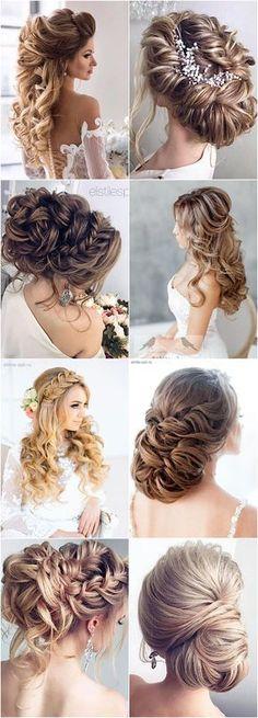 Featured Hairstyle: Elstile; www.elstile.com #weddinghairstyles