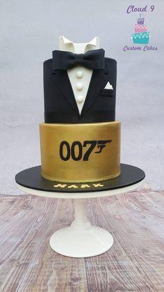 The name is Bond-James Bond- 007 Cake