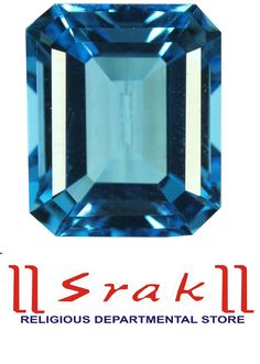 GEMSTONE BLUE TOPAZ Square Shape Product Material : Gemstone Topaz 7Ratti 1 Ratti: INR-380 Warranty :5 Year (warranty of original gemstone) Disclaimer : Product colour may slightly vary due to photographic lighting sources or your monitor settings Brand : Srak with lab Certificate  Design : both men & female Material :Gemstone  Collection : Gemstone Topaz Wearability : Daily Product Type : Natural 100% Gemstone  Colour : Natural Light Blue Treatment Of Gemstone: None Lustre: Excellent…