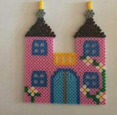 Fairy castle hama beads by Sylvana